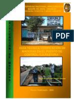 Verificacion Maderas Puesto Control Forestal