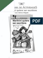 Maritrini Quiere Ser Escritora