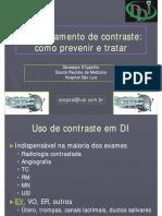 Extravasamento de Contraste - Como Prevenir e Tratar - 09-2010 - Prof Dr Giuseppe DIppolito