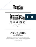 TimeLine ConcerningStrangeDevices StudyGuide