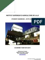 ISA Student Handbook 2010-2011
