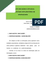 Gasto Saude Eficacia Araraquara v.19032013pdf