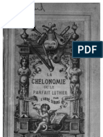 15. La Chelonomie ou Le Parfait Luthier, L' Abbé Sibire - N.
