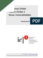 sardenberg, robnaldo mota. segurança global - nações unidas e novas vulnerabilidades [1998]