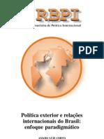 cervo, amado luiz. política exterior e relações internacionais do brasil [2003]
