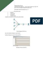 Konfigurasi Web Server Dengan Packet Tracer
