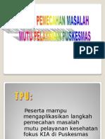 Siklus Pemecahan Masalah Mutu Pelayanan.ppt