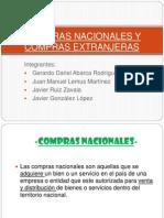 Compras Nacionales e Internacionales (1)