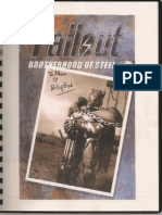 Fallout Brotherhood of Steel 2 Design Document