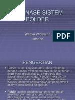 Drainase Sistem Polder