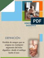 Hemorragia digestiva  2013