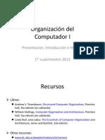 C01 - Introduccion e Historia 1er 2012