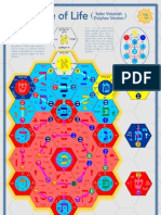Polyhex Tree of Life - A1 Color Poster