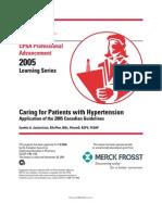 CPhA Guidelines Hypertension