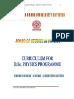 M_G_University CBCSS B_Sc_ Physics Syllabus 2010 Admission
