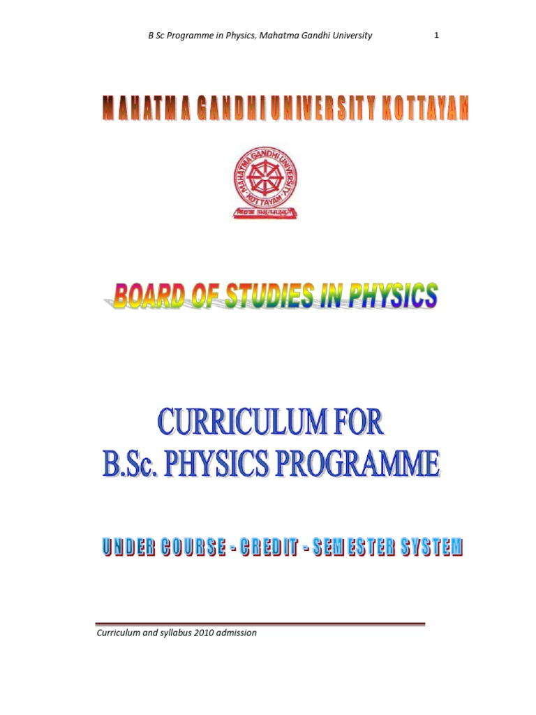 Mguniversity cbcss bsc physics syllabus 2010 admission mguniversity cbcss bsc physics syllabus 2010 admission capacitor physics fandeluxe Images