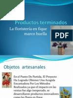 Productos terminados floristeria
