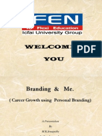 Seminar Version of Brand & You