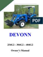 DEVONN Owner's Manual