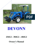 DEVONN Owner's Manual