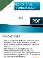 Derecho Civil Fundaciones