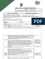 Planificacion Clase a Clase 2 MAT 6