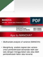 MANOVA- teori