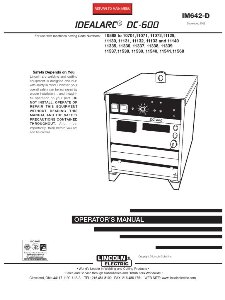 Diagram Welding Machine Dc 600 Wiring Schematics Im642 Pdf Power Supply Polishing