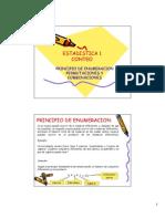 Tecnicas de Conteo Permutaciones y Combinaciones