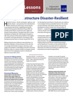 Making Infrastructure Disaster-Resilient