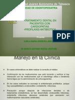 Dr Marco Manejo Dental Cardiopatias