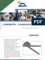 Diapositivas de Goniometro y Calibrador de Laminas
