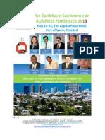 Caribbean Conference on Business Forensics 2013 Delegate's Kit