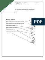 Simbología de los equipos utilizados en Ingeniería Química