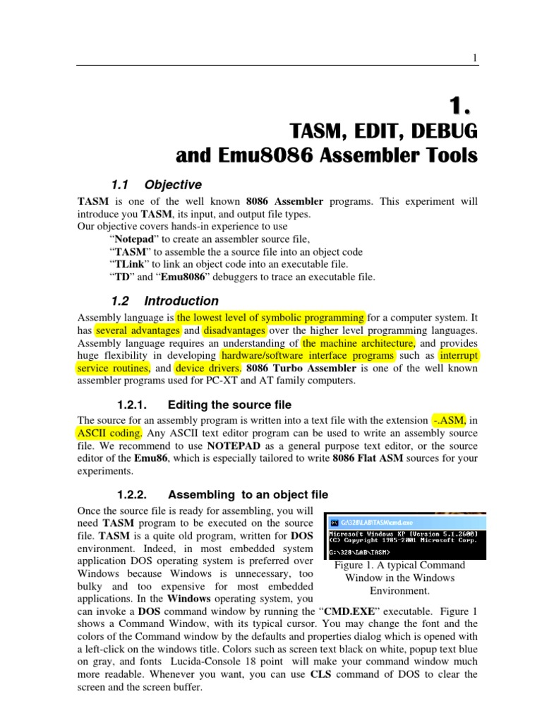 lab1 | Assembly Language | Source Code