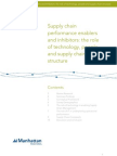 Supply Chain Perfomance Enablers and Inhibitors