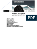 formulario de postulación