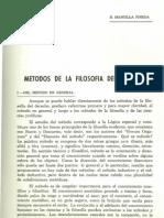 Metodo Filosofia Del Derecho