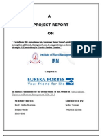 Marketing Project on Eureka Forbes