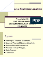 Lecture No.7 Financial Statement Analysis