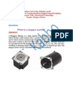 Steeper Motor