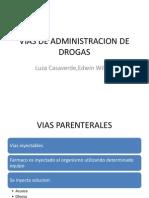 Vias de Administracion de Drogas[1]