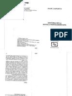 05075011 SAPORTA - Historia de La Novela Americana (Cap. 1 y 3)