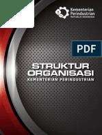 Struktur Organisasi Kementerian Perindustrian 2012