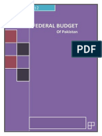 Federal Budget of Pakistan 2011-12