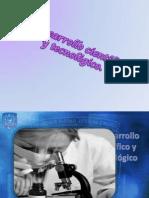 El desarrollo científico