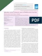 Patel 2012, Aphrodisiac Activity of Ethanolic Extract Of