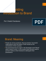 Brand Building Chptr1