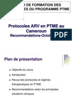Nouvelles Recommandations ARV en PTME Au Cameroun