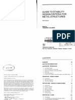 GALAMBOS Guide to Stability Design Criteria for Metal Structures